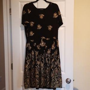 LuLaRoe Elegant collection Amelia dress